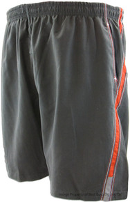 Charcoal Swim Trunks Two-Tone Side Panels by Falcon Bay
