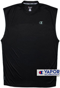 Black Champion Vapor Performance Muscle Tee