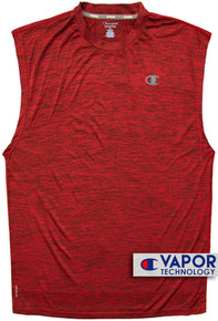 Red Champion Vapor Performance Muscle Tee