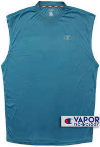 Blue Champion Performance Muscle Tee