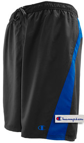 Black Pieced - Champion Longer Length Swim Trunks