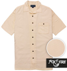 Linen  Foxfire Casual Cabana Shirt - Relaxed Fit