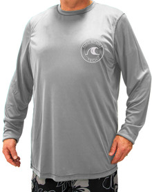 big and tall stores online Gray Swim shirt