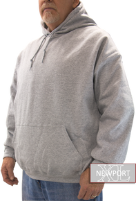 heather gray hooded sweatshirt big tall guys