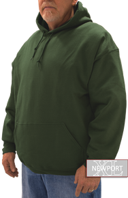 green pullover hoodie men's tall and big