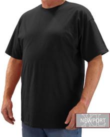 Black NewportXL Short Sleeve T-Shirt