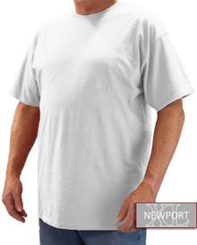 White NewportXL Short Sleeve T-Shirt