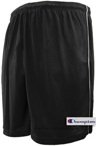 Black Champion Lightweight Mesh Shorts