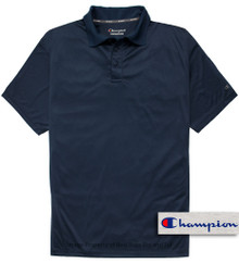 Navy Blue Champion Performance Polo Shirt