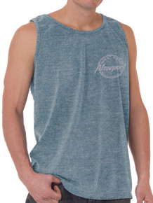 Foxfire COASTAL Print Tank Top HEATHER BLUE