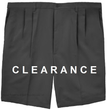 Haggar PLEATED Casual Shorts BLACK