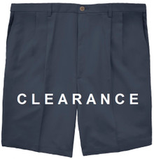 Haggar PLEATED Casual Shorts NAVY