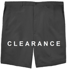 Haggar Flat Front Casual Shorts BLACK