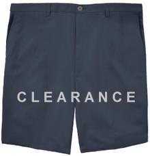 Haggar Flat Front Casual Shorts NAVY