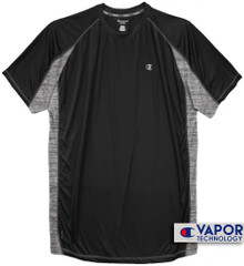 Black Champion Color Block Performance T-Shirt