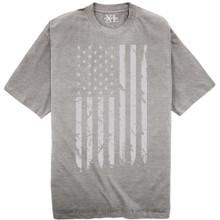 NewportX Printed T-Shirt LARGE GRAY FLAG Heather Gray