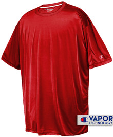 Red Champion Vapor Tech Athletic T-Shirt