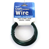 20 Gauge Dark Green Craft Jewelry Wire