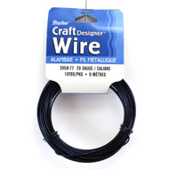 20 Gauge Dark Purple Craft Jewelry Wire
