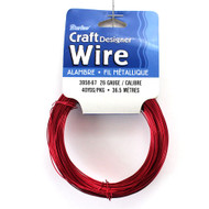 26 Gauge Red Craft Jewelry Wire