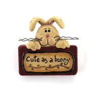 Country Primitive Bunny Pin Spring Wear