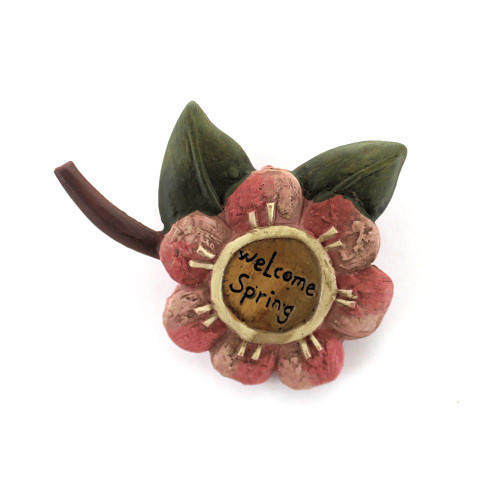 Country Primitive Flower Pin Spring Wear