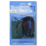Battery Operated Teeny LED Multi-Color String Lights