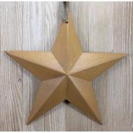 Mustard Resin Barn Star