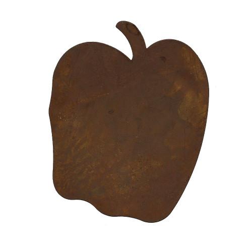 Rusty Tin Large Apple Cutouts