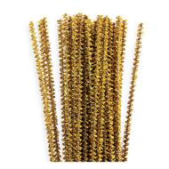 3mm Metallic Gold Tinsel Stems