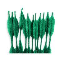 Green Bump Chenille Stems