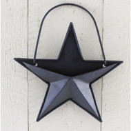 Colonial Blue Small Pocket Star Ornament