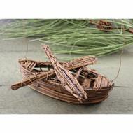 Vine Canoe Lodge Ornament