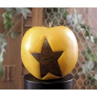 Golden Apple Rusty Star Bowl Filler
