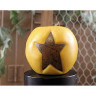 Golden Apple Rusty Star Bowl Filler