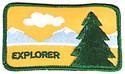 Explorer Emblem  261165C