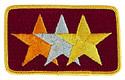 Three Star Emblem  262323