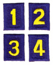 Stockade Unit Numerals