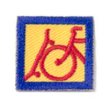 Bikes and Boards: Patches (Pkg of !0)