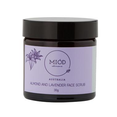 Miod Skincare Face Scrub | Almond & Lavender