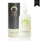 ORG MINERAL PEEL BODY | complements shaving + waxing