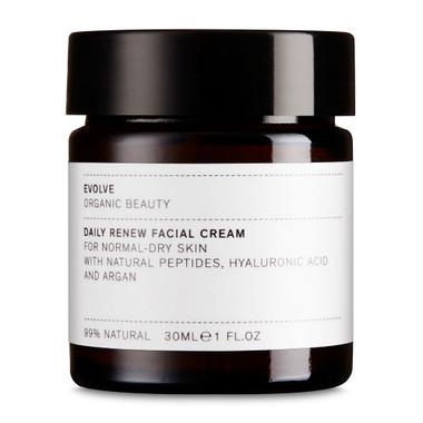 evolve Daily Renew Face Cream | argan oil, hyaluronic acid