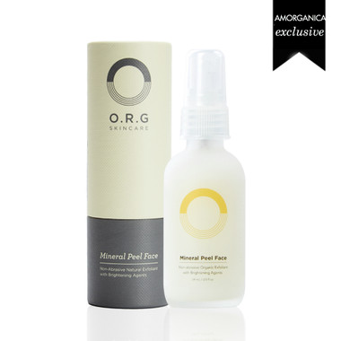 ORG mineral peel face