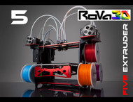RoVa3D 5 Extruder 3D Printer Package