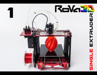 RoVa3D Single Extruder 3D Printer