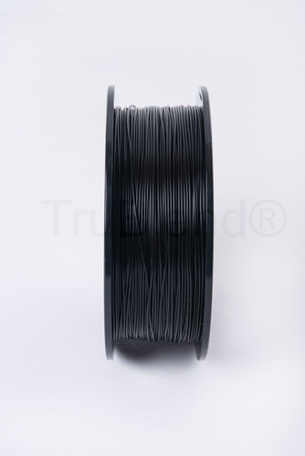 Black TruBlend 1.75mm ABS 3D printer filament by ord solutions inc - Vertical