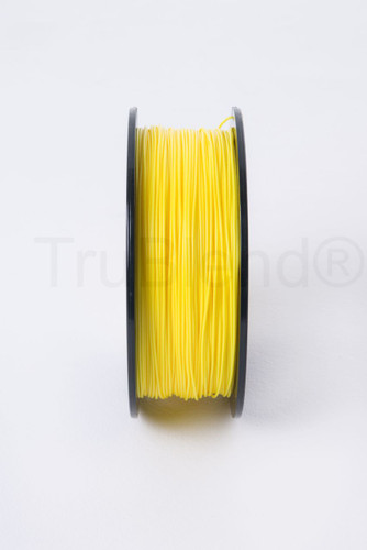Yellow TruBlend 1.75mm ABS 3D printer filament by ord solutions inc - Vertical