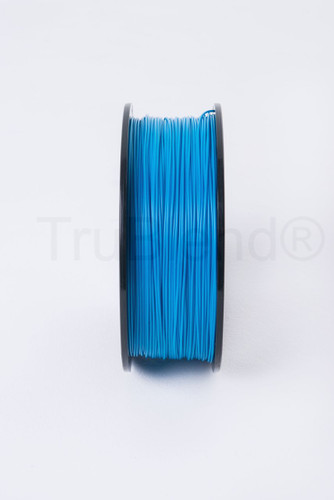 Cyan TruBlend 1.75mm ABS 3D printer filament by ord solutions inc - Vertical