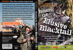 Hunting The Elusive Blacktail Deer DVD Sleeve