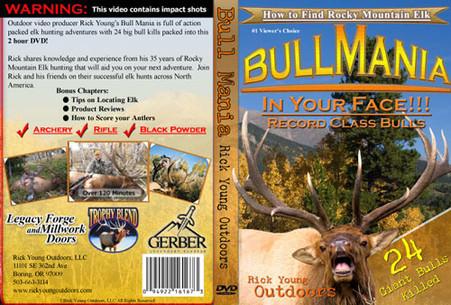 Bullmania Dvd Rick Young Outdoors Ultralight Bino Harness